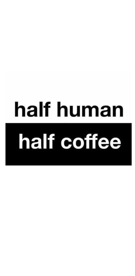 cover half coffee