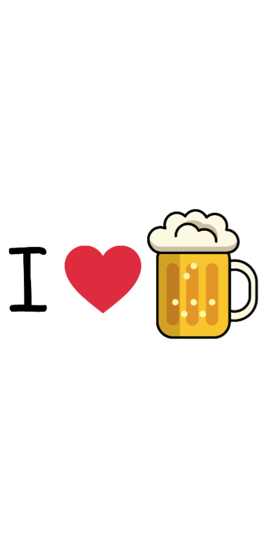 cover I love beer!