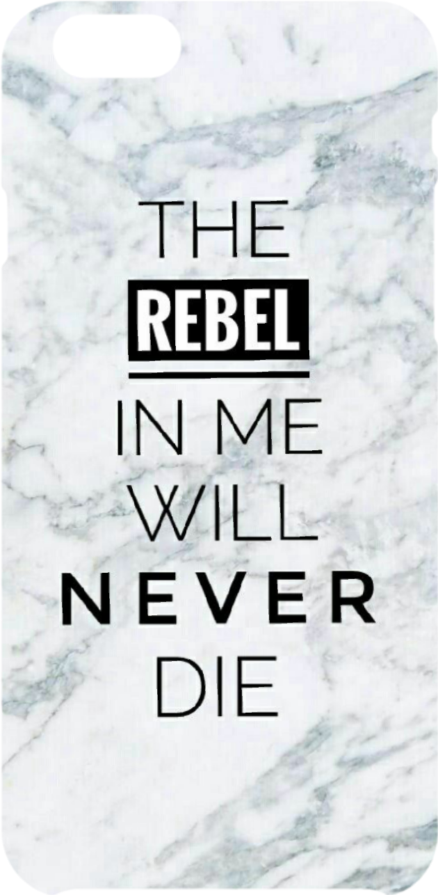 cover The rebel in me will never die