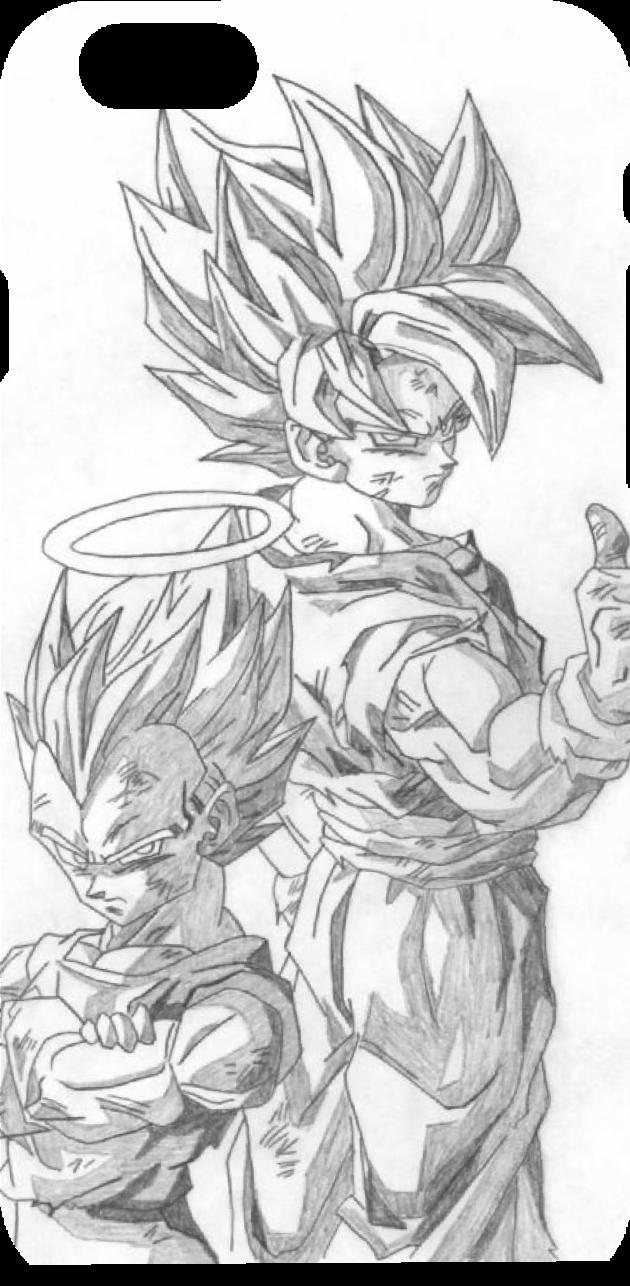 cover DB Goku e Vegeta