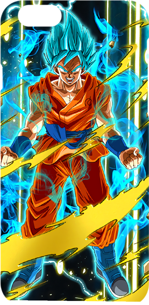 cover Goku ssj blu