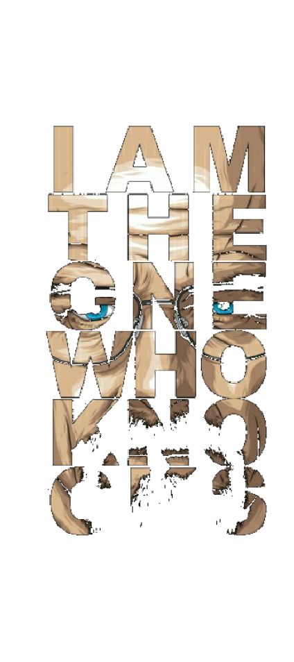 cover I am the one who knooks.