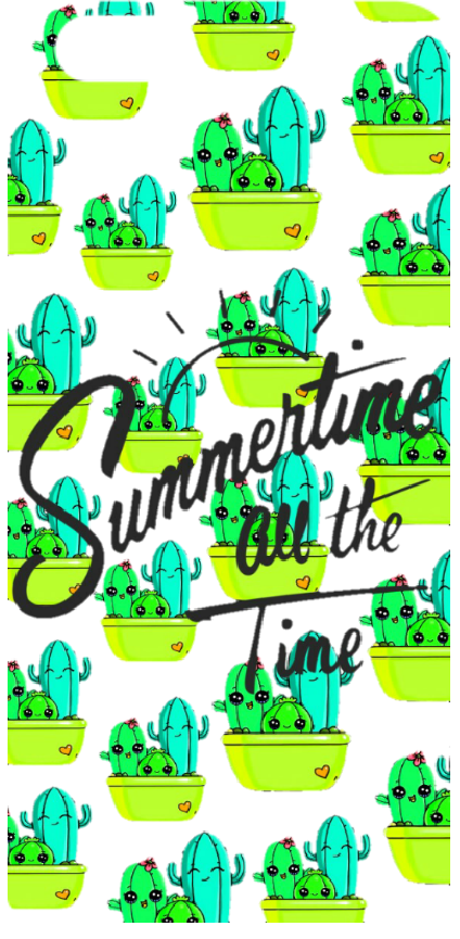 cover Summertime cactus