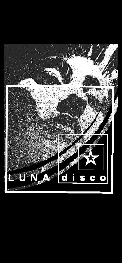 cover LUNA disco
