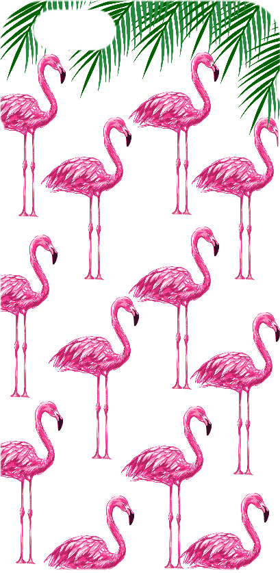 cover Flamingo pink cover