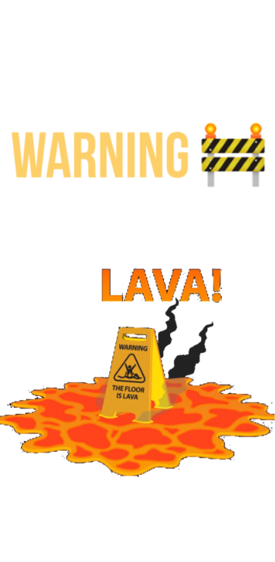 cover the floor is lava