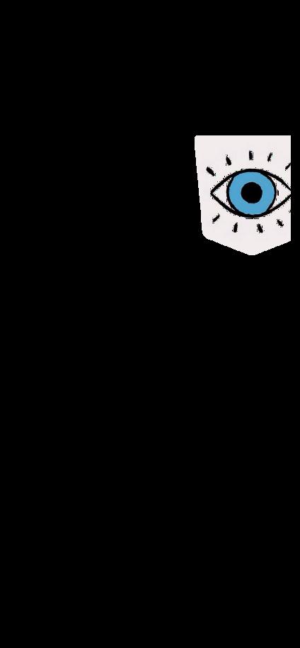 cover t-shirt eyes