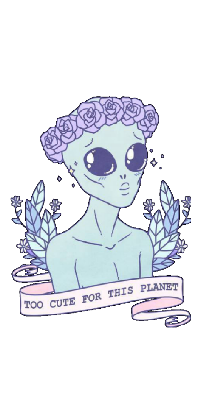 cover TOO CUTE FOR THIS PLANET by Area420