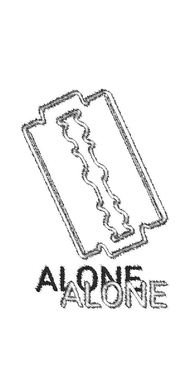 cover ALONE HOODIE BY AREA420