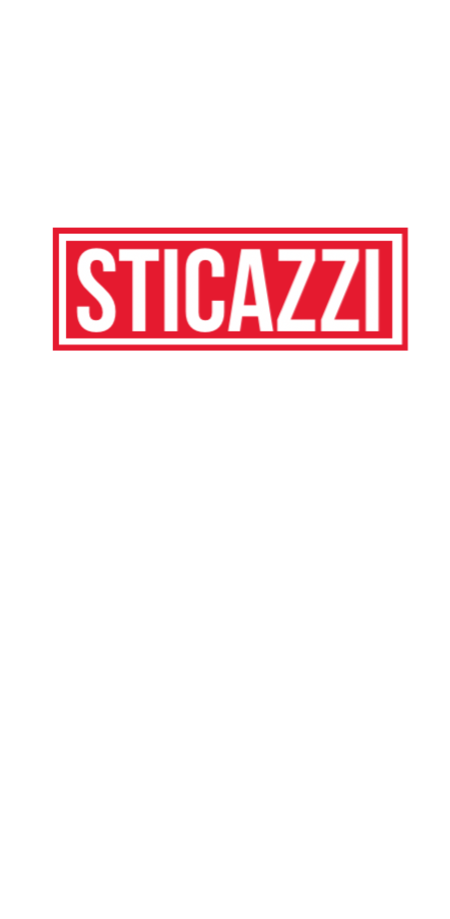 cover #STICAZZI