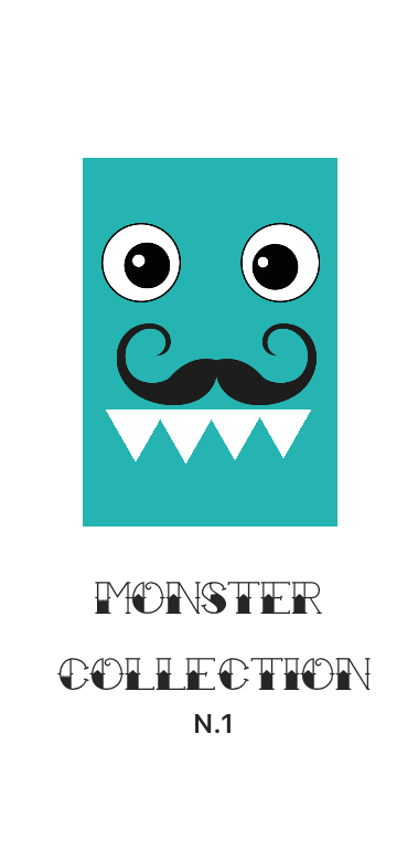 cover monster collection n.1