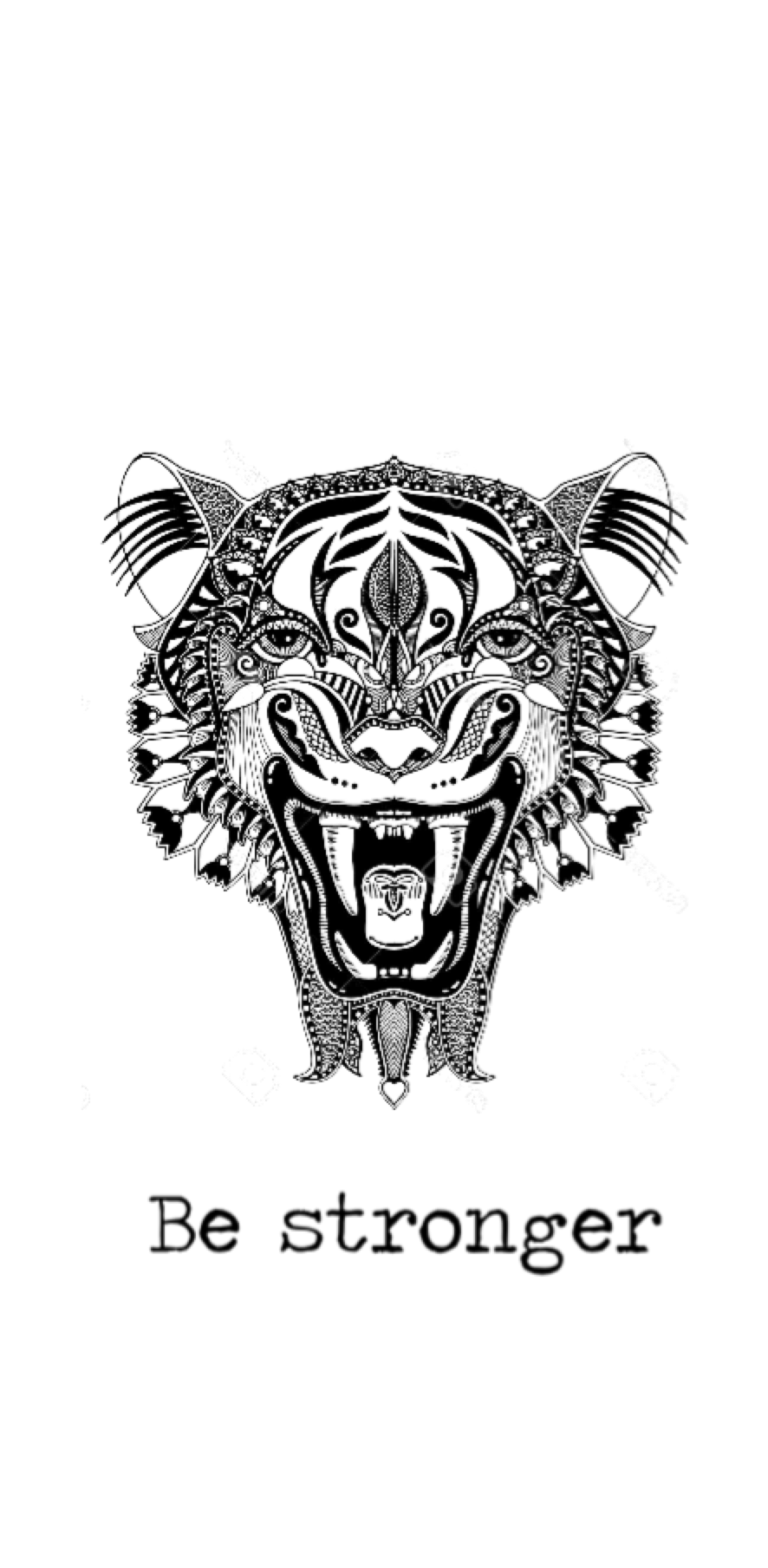 cover T-shirt: 'Tiger'