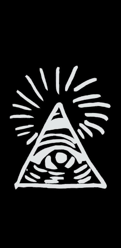 cover Cover con piramide degli illuminati
