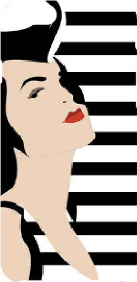 cover Stripes nd lips