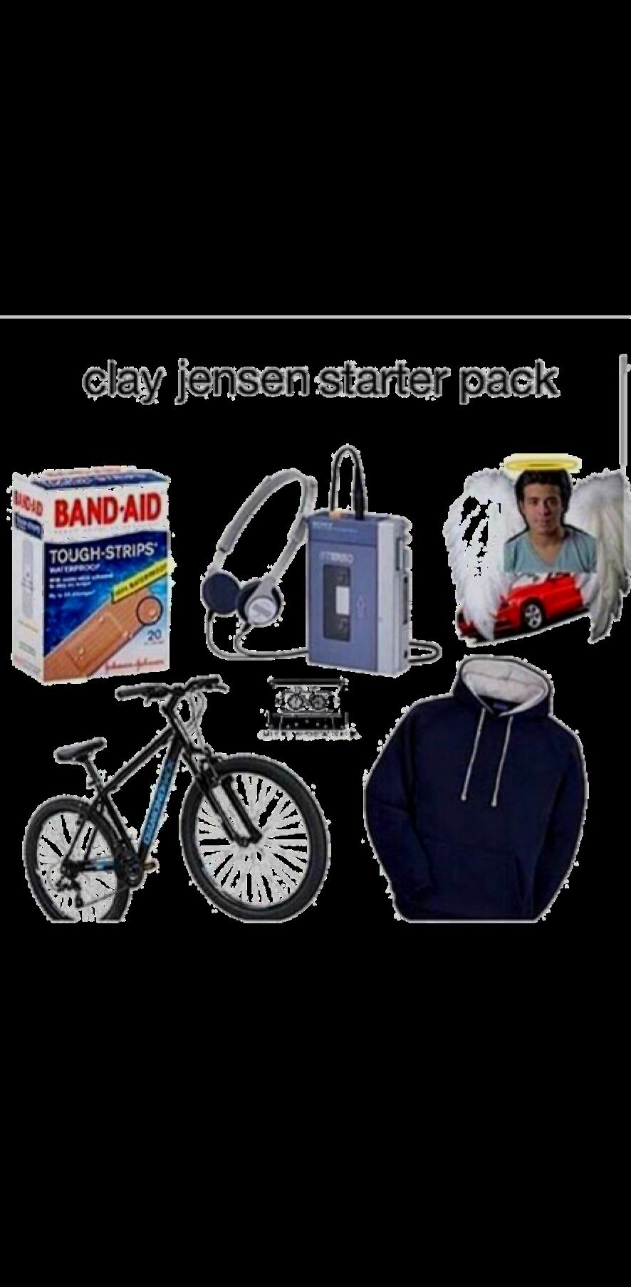 cover Clay Jensen starter pack
