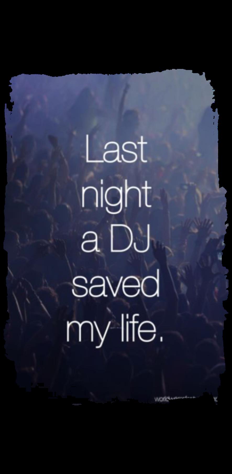 cover Last night a dj saved my life .