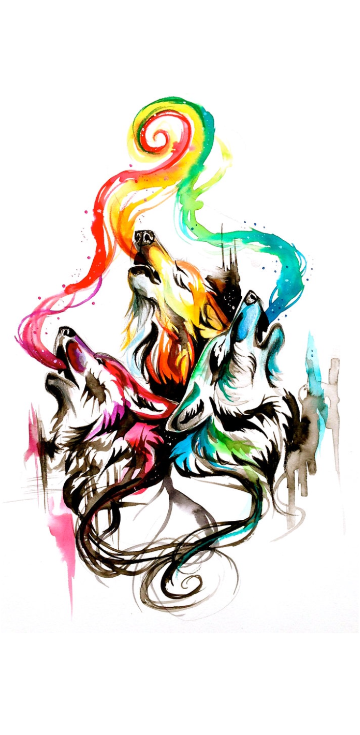 cover Wolf Colorful