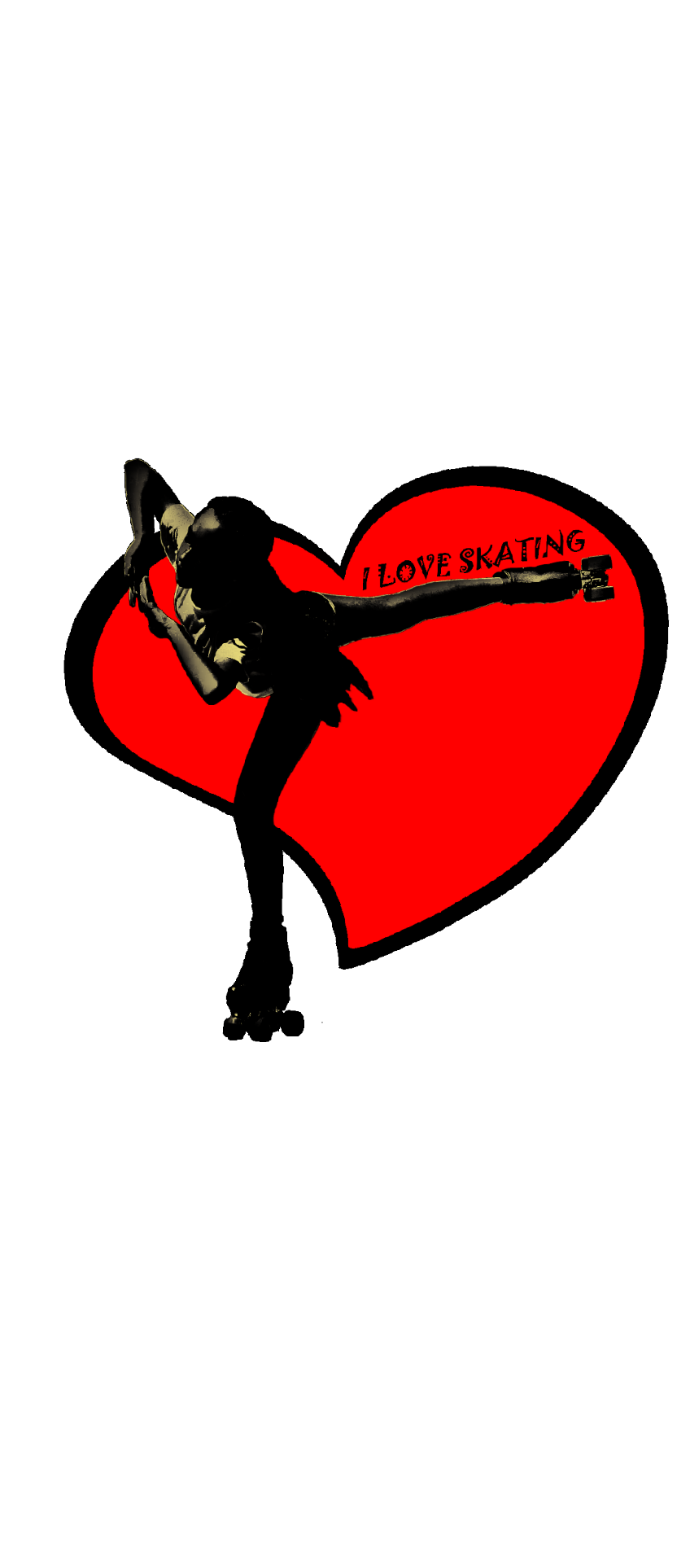 cover Skating in the red heart