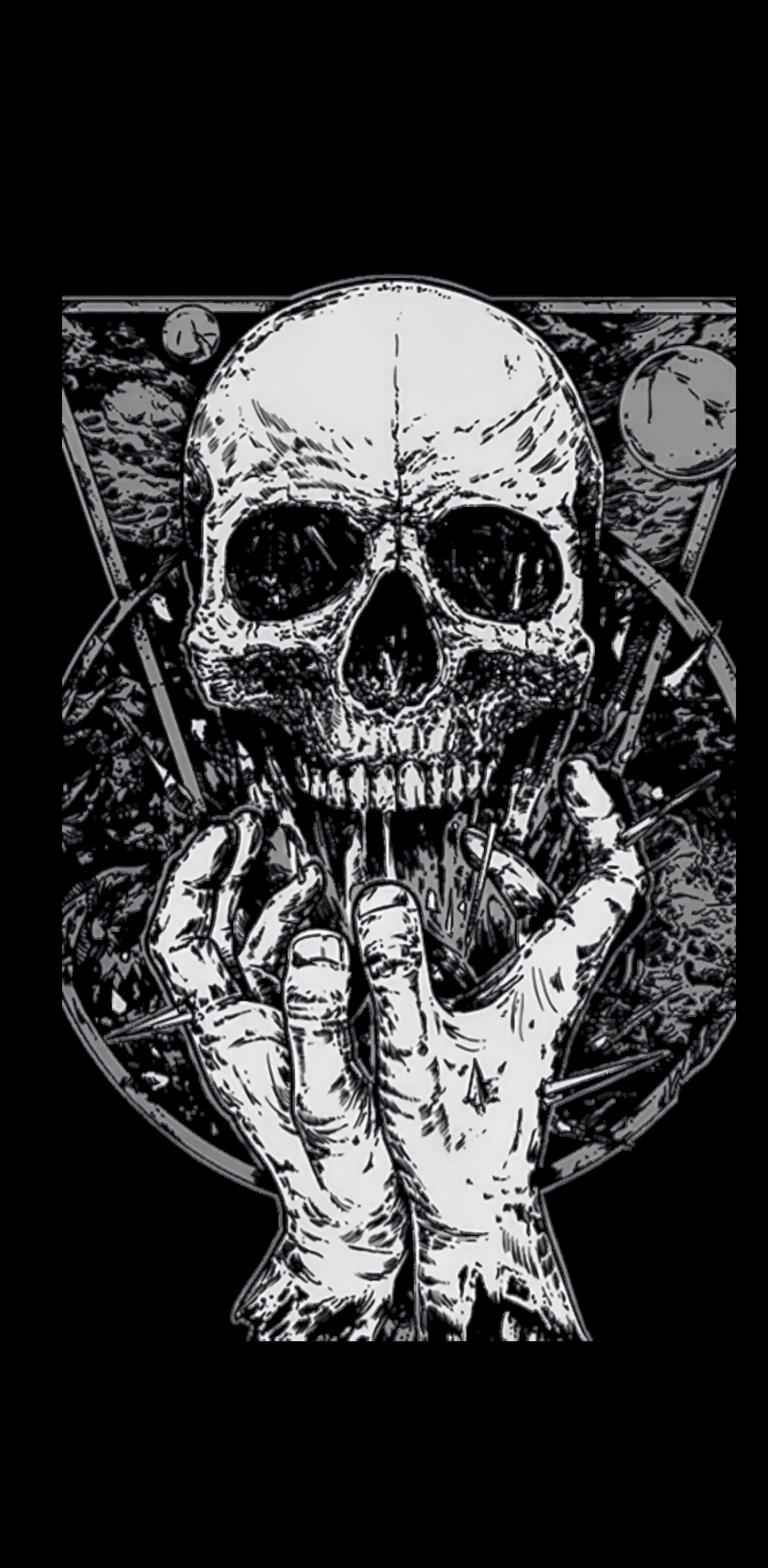 cover skullshirt