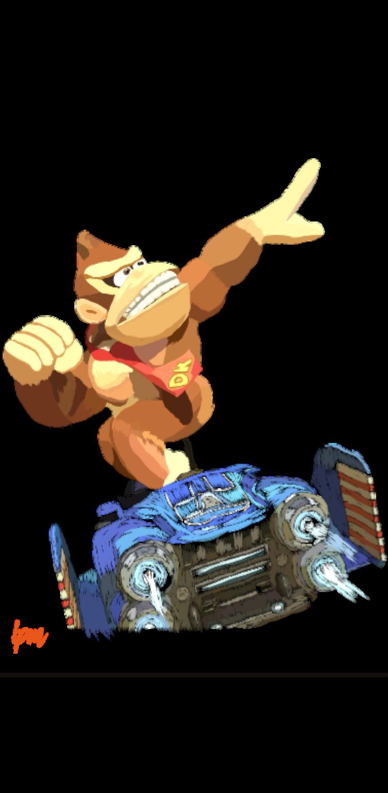 cover maglietta Donkey Kong