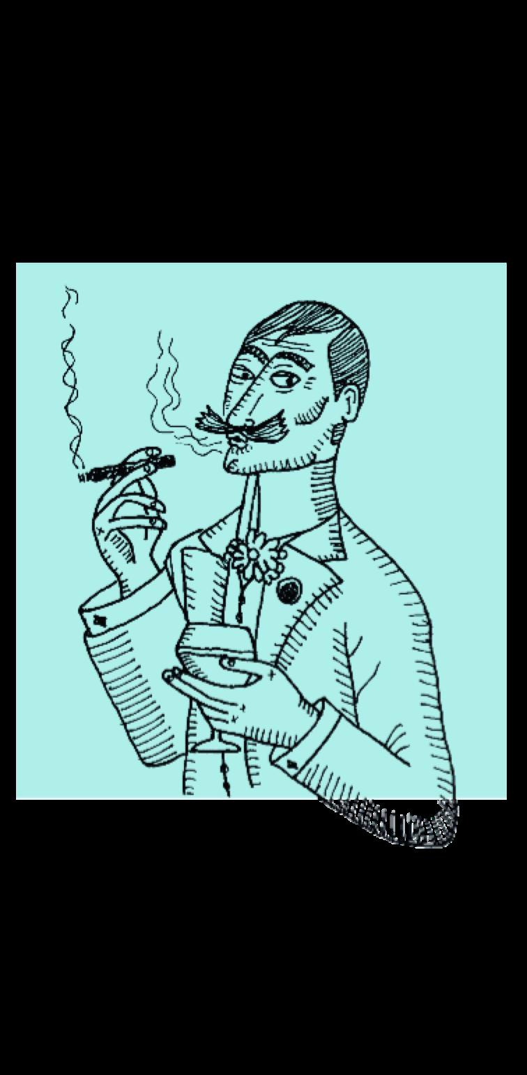 cover Smoking Man