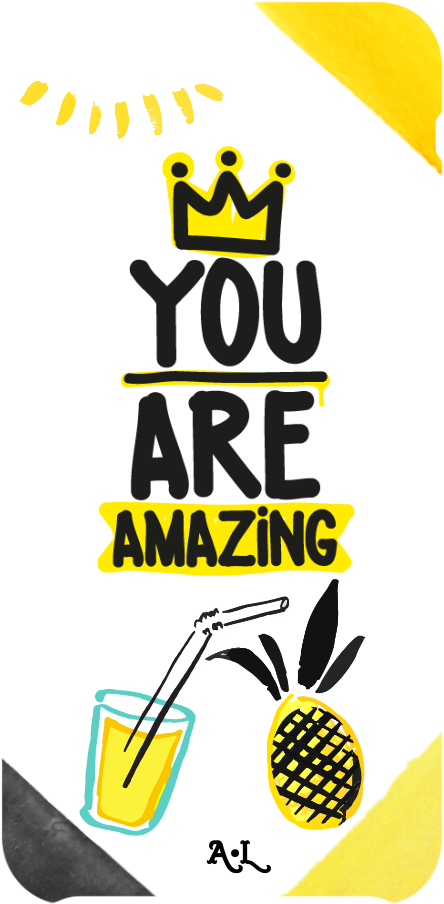 cover You are amazing cover