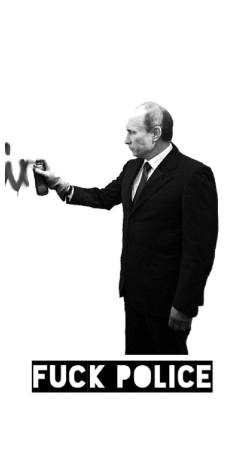 cover Putin- fuck police