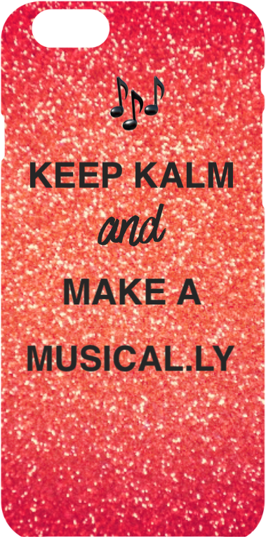 cover Cover 'Keep kalm and make a musical.ly'