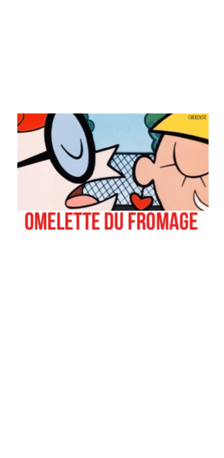 cover omelette du fromage