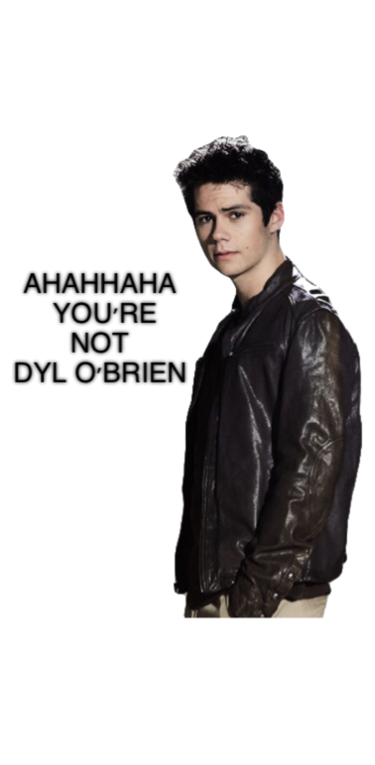 cover Dylan O'brien