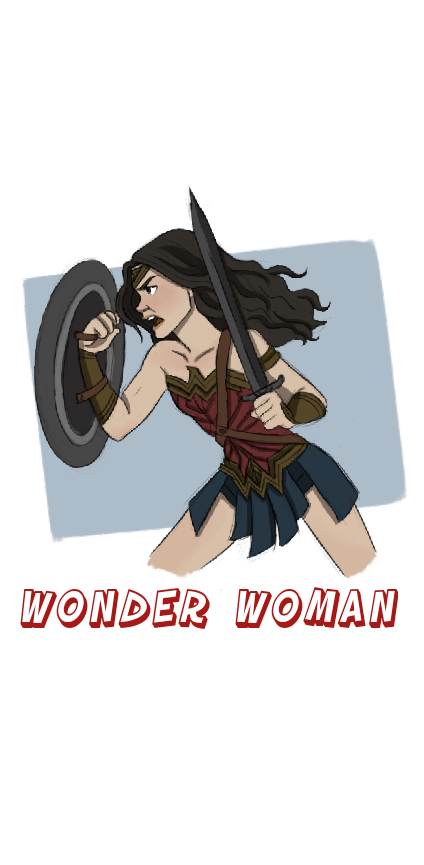 cover Wonder Woman Cover