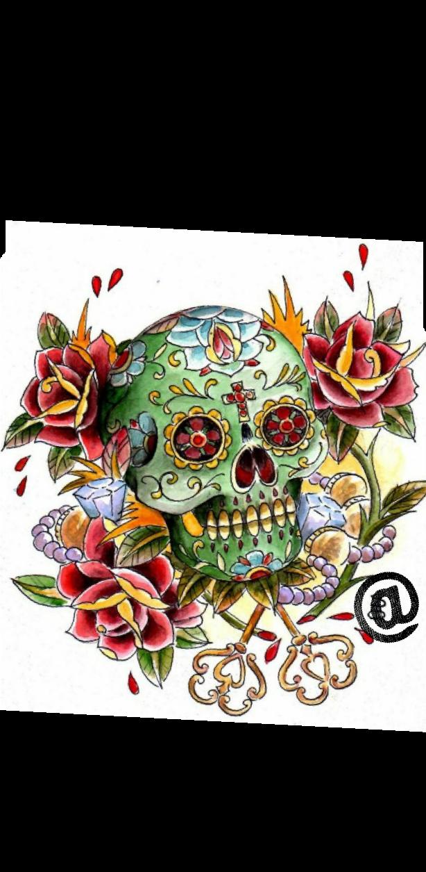 cover skullrose