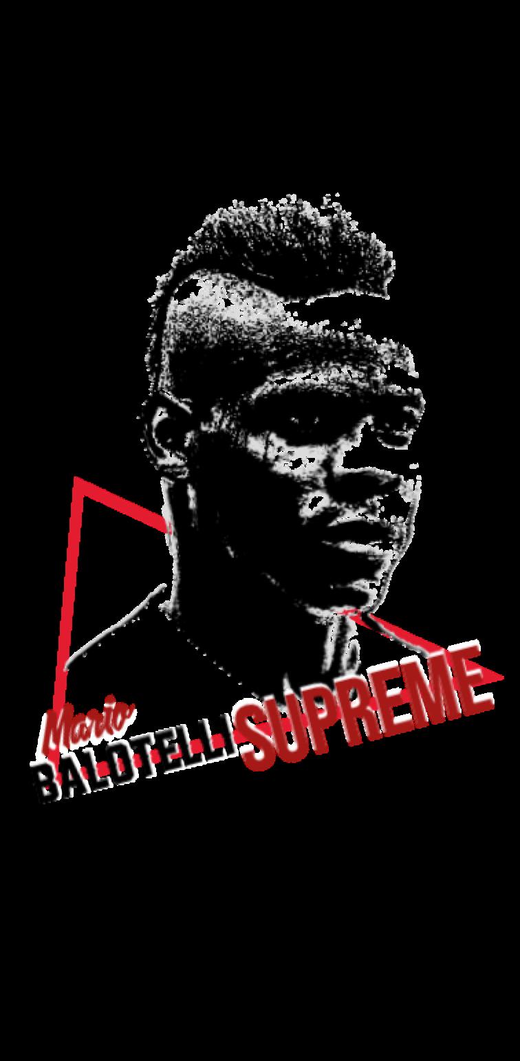 cover Mario Balotelli ® SUPREME