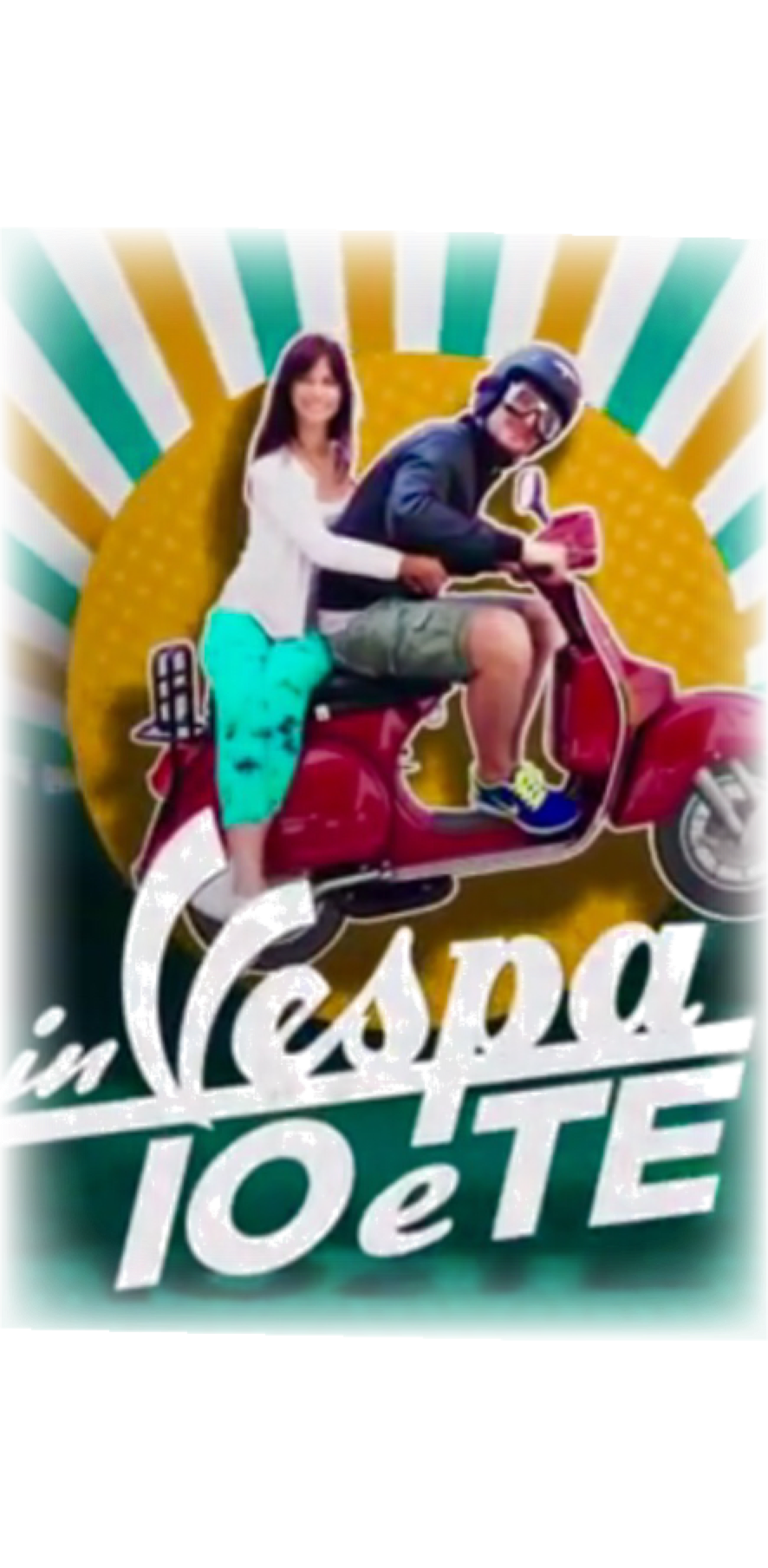 cover In Vespa io e te