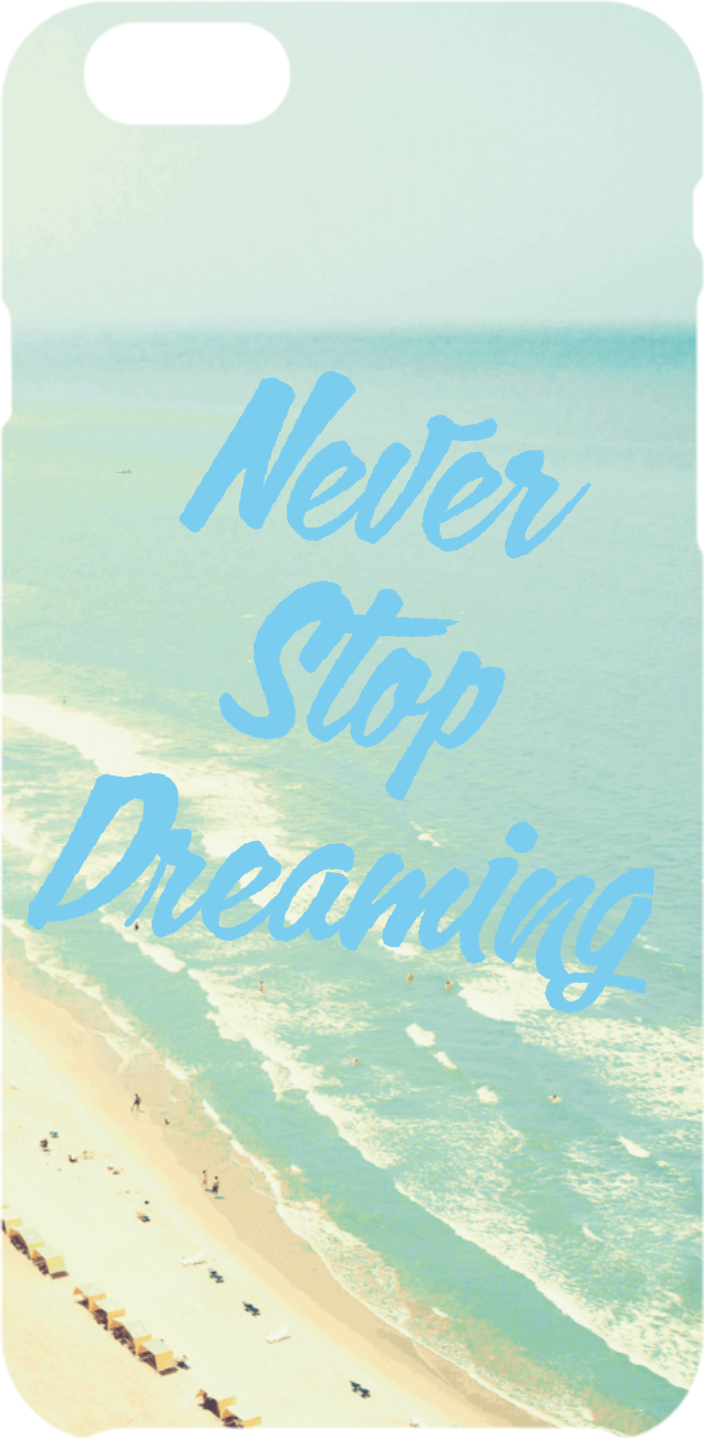 cover Never Stop deaming