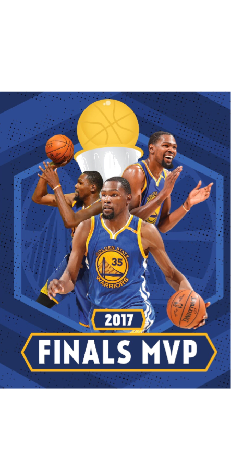 cover kevin durant mvp finals