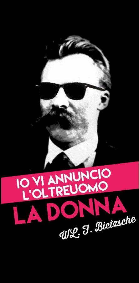 cover Nietzsche Io vi annuncio il superuomo:la donna