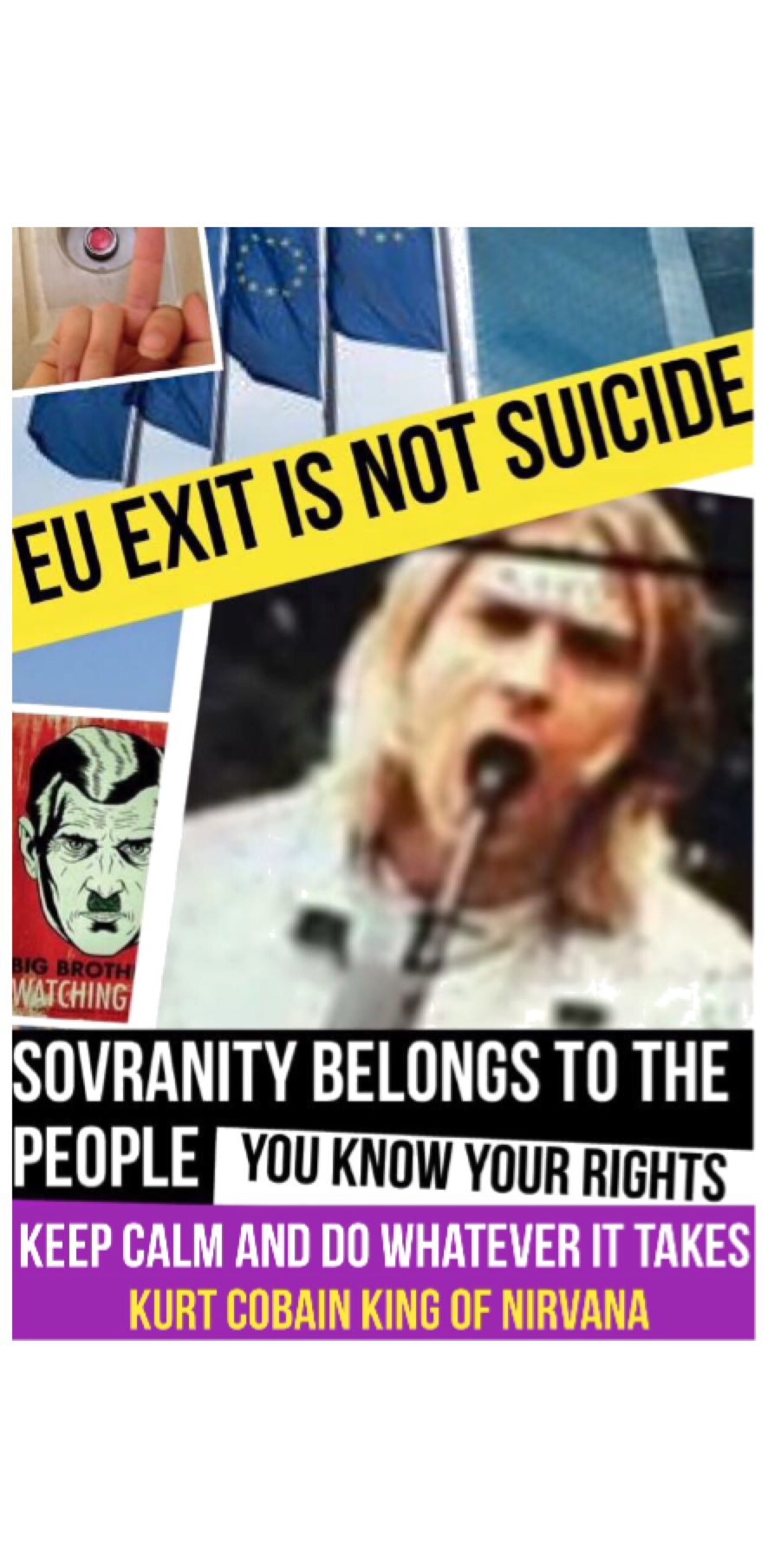 cover Euexit is not suicide