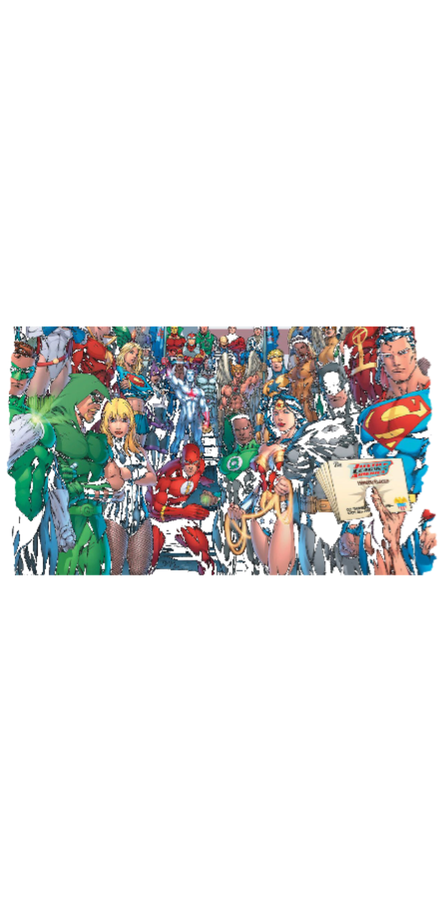 cover justice league