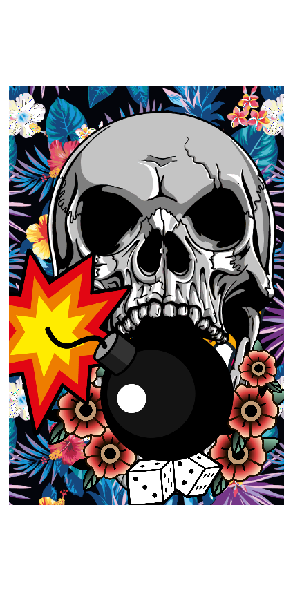 cover maya skull
