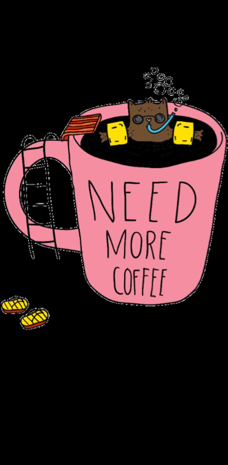 cover maglia donna 'need more coffee'