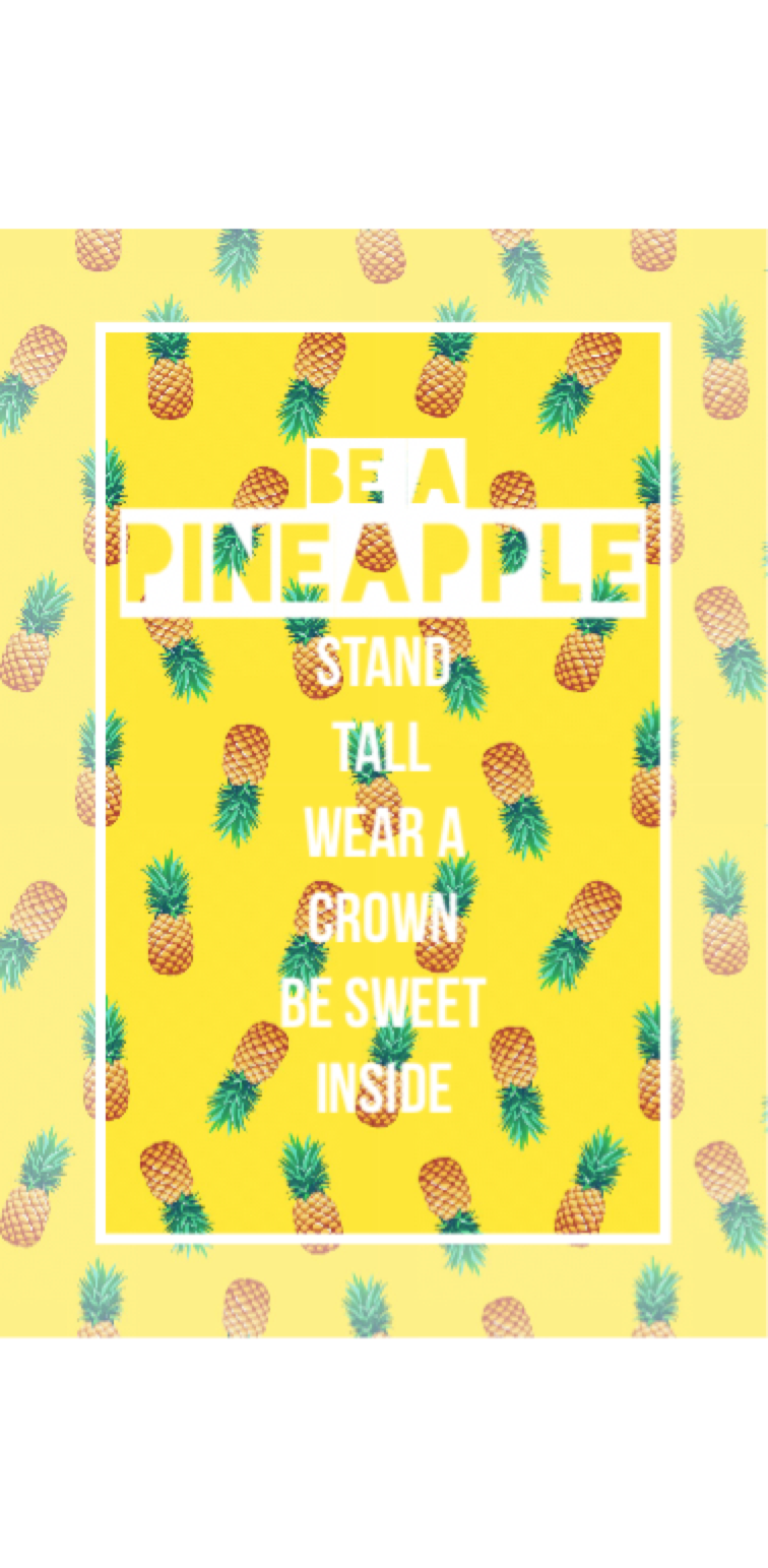 cover Be a Pineapple