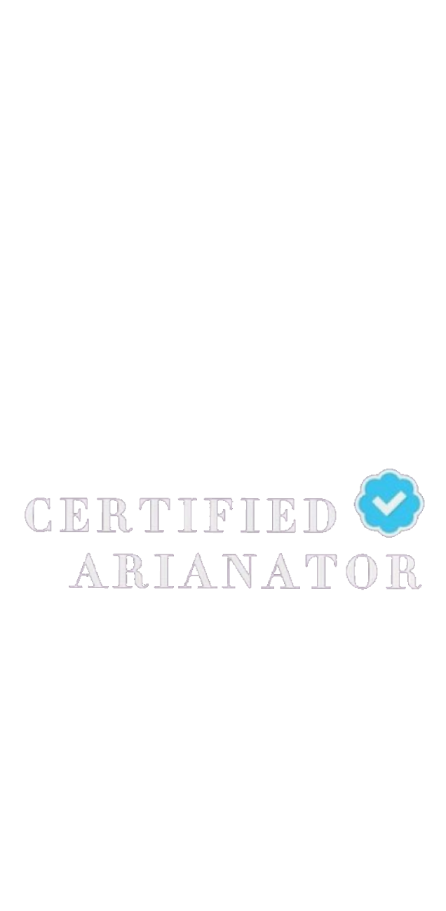 cover certified arianator