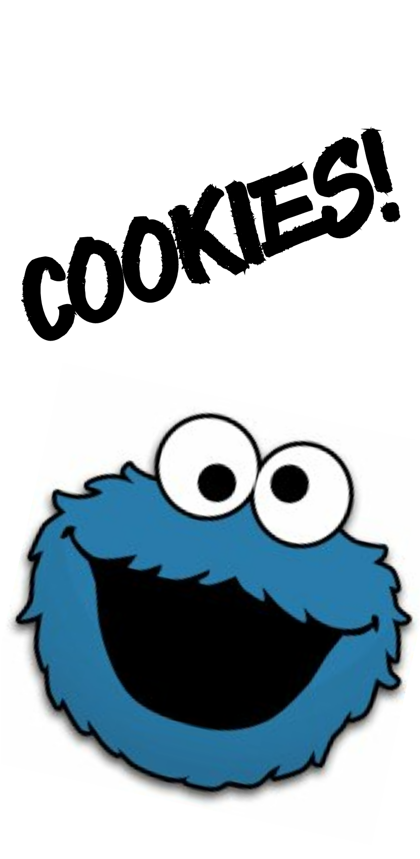 cover cookies monster!