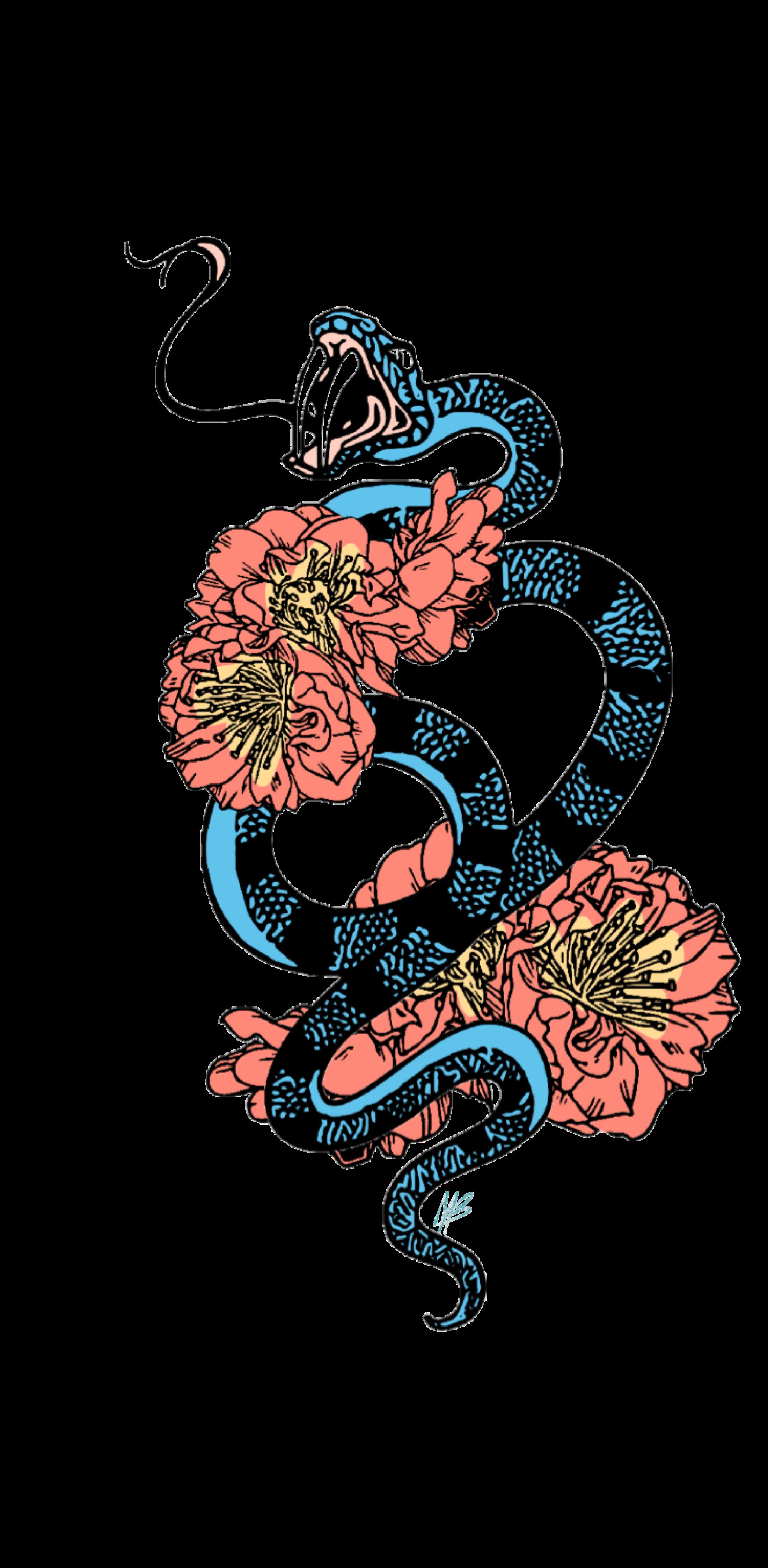 cover flower snake