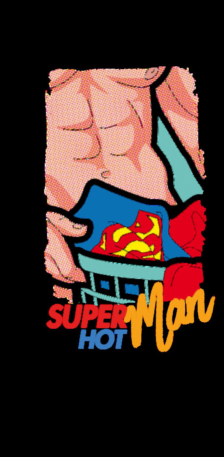 cover SUPER (HOT) MAN!