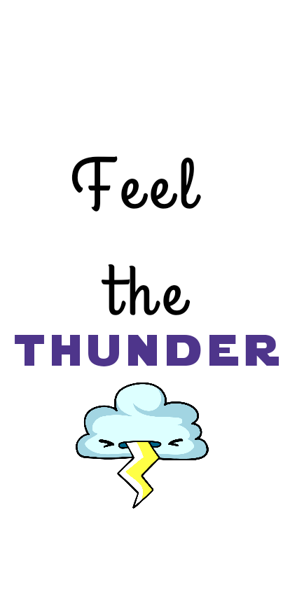 cover feel the thunder
